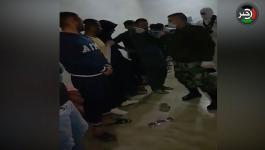 شاهد بالفيديو: الأجهزة الأمنية تُداهم نقطة لتهريب العمال من الضفة إلى إسرائيل