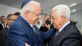 الرئيس عباس وريفلين