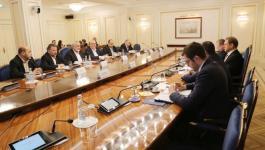 تفاصيل لقاء هنية مع رئيس مجلس الفيدرالية الروسي