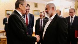 حماس تكشف تفاصيل لقاء هنية مع لافروف في موسكو