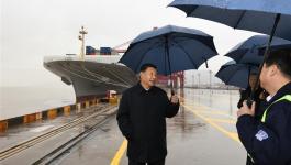 الرئيس الصيني يتفقد استئناف العمل في المناطق الصناعية
