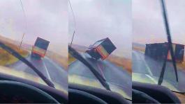 بالفيديو: هكذا فعلت العاصفة