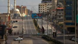 شاهد: أجواء قطاع غزة عقب إعلان إصابةمواطنين بفيروس كورونا