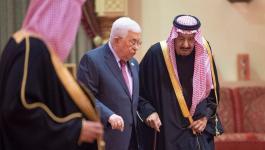 عباس والملك سلمان