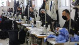 الداخلية بغزة تبدأ بتصنيع الكمامات الواقية لتوزيعها على المواطنين