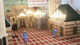 ترميم المسجد الابراهيمي