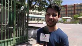 آراء طلبة الثانوية العامة بغزّة في أولى امتحانات العام 2020
