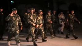 بالفيديو: قيادة كتائب الأقصى تتفقد المرابطين على ثغور غزّة