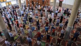 صلاة العيد بغزة