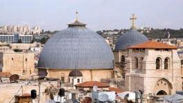 إعادة فتح أبواب كنيسة القيامة