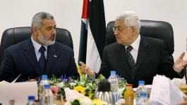 هنية والرئيس عباس