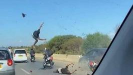 بالفيديو: حادث خطير خلال استعراض بـ