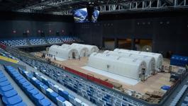 بدء تشغيل أول مختبر متنقل قابل للنفخ لاجراء اختبارات كورونا في الصين