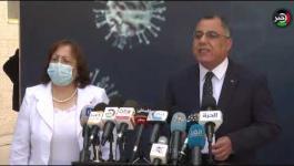 الحكومة تتحدث عن آخر مستجدات فيروس كورونا في الضفة الغربية