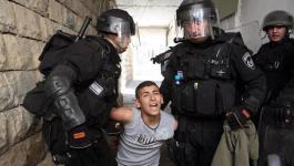 الاحتلال يعتقل شاب في قلنديا