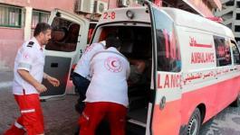 إصابة 3 مواطنين في حادث سير