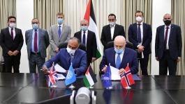 اشتية يعلن توقيع اتفاقيتين مهمتين لصالح فلسطين