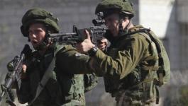 صورة: إصابة جندي إسرائيلي جراء انفلات رصاصة من سلاحه قرب رام الله