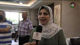الأولى على فلسطين في امتحانات الثانوية العامة بالفرع العلمي تروي لوكالة خبر تفاصيل إعلان النبأ