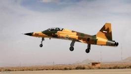 سقوط طائرة إيرانية