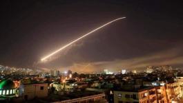 الطائرات الإسرائيلية تقصف أهدافاً في دمشق