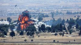 انفجار على حدود سوريا