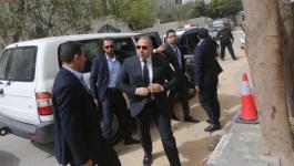 الوفد الامني المصري