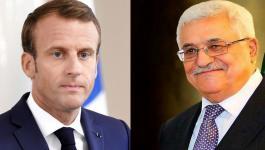 فحوى اتصال هاتفي بين الرئيس عباس ونظيره الفرنسي