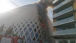 اندلاع حريق كبير بمبنى تجاري في بيروت اليوم.jpg