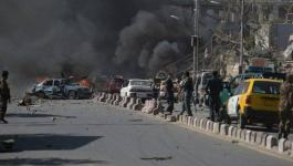 10 قتلى بانفجار استهدف موكب نائب الرئيس الأفغاني.jpg