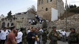 الاحتلال يشدد تدابير المراقبة العسكرية في تل الرميدة بالخليل.jpg