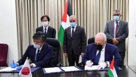 توقيع اتفاقيتي دعم ياباني لصالح تحسين المخيمات الفلسطينية