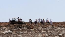 إصابة مواطن إثر اعتداء للمستوطنين على قرية عصيرة القبلية جنوب نابلس.jpg