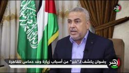 إسماعيل رضوان يكشف عن أسباب زيارة وفد حــماس للقاهرة