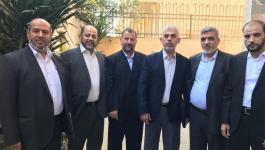 وفد حماس في مصر
