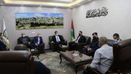 لجنة إدارة أزمة كورونا بغزة