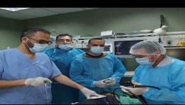 فريق طبي بغزة يتمكن من إنقاذ حياة طفل ابتلع مسمارًا بطول 6 سم