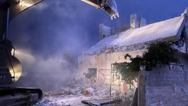 الاحتلال يهدم منزل الأسير خليل دويكات في نابلس