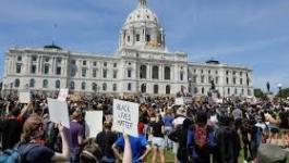 مظاهرات أمام البيت الأبيض