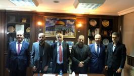 لقاءات حماس وفتح في القاهرة