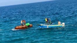 زراعة غزة تبدأ بمشروع تركيب الأقفاص البحرية