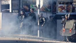 اندلاع مواجهات مع الاحتلال شمال البيرة