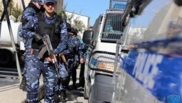 شرطة جنين تقبض على مطلوبين للعدالة وتضبط مركبات غير قانونية
