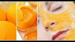 ماسك قشر البرتقال المجفف.. لبشرة مشرقة