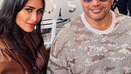 إنجي كيوان: لم أخطف الأنظار من عمرو دياب وقصة الحب بيننا