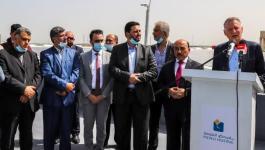 افتتاح مشروع توليد الكهرباء