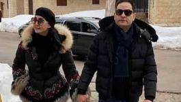 شاهدوا: بإطلالة رومانسية.. غادة عبد الرازق برفقة زوجها في أحدث ظهور