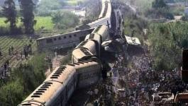 صحيفة مصرية تكشف عن تفاصيل صادمة بحادث قطاريّ سوهاج