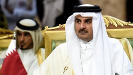 أمير قطر يبحث مع الرئيس عباس آخر مستجدات الساحة الفلسطينية