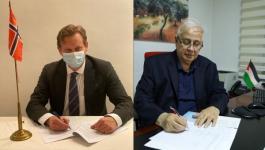 توقيع اتفاقية دعم للانتخابات مع النروبج